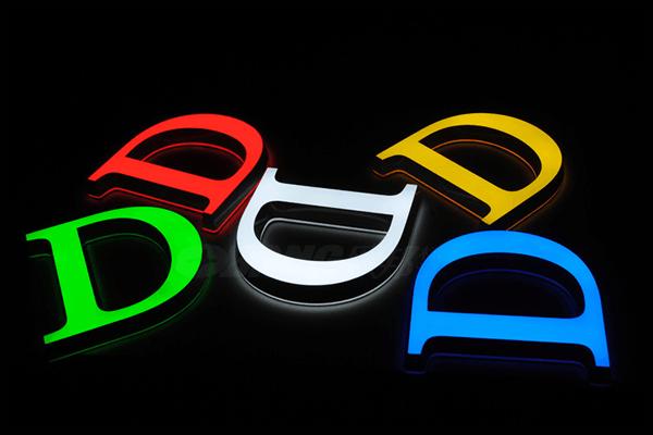 泰州广告公司提供迷你发光字定制加工